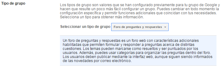 Bandeja de entrada Google Groups